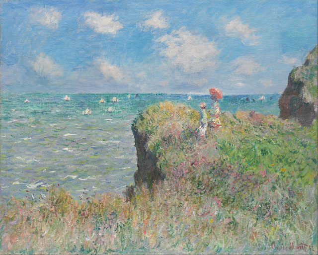 最高の写実絵画、クロード・モネ...