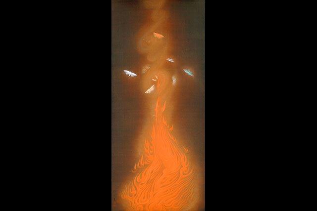 「速水御舟 炎舞」の画像検索結果