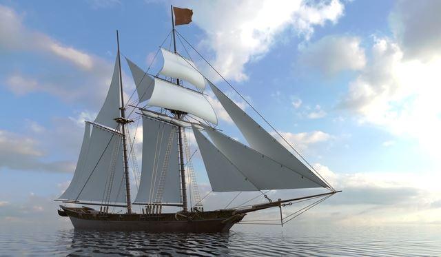 得手に帆を揚げるの意味・使い方|ことわざ|趣味時間